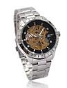 Gorgeous Men's Stainless Steel Mechanical Wrist Watch