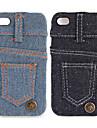 джинсы покрытие жесткий кейс для iphone 4 / 4s
