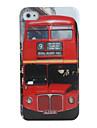 caso de ônibus padrão rígido para iphone 4 / 4s