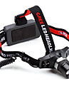 3-Mode Cree XR-E Q5 Zoom LED Headlamp with Red Warming Light (380LM)