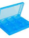 28-en-1 cas de stockage de jeux de cartes pour NDSi, DS Lite et 3ds (bleu)