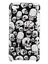 Skull Heads Pattern Hard Case for iPod Touch 4 (Multi-Color)