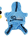 Princess Velvet Hoodie with Pants Suit for Dogs (XS-XL, Assorted Colors)