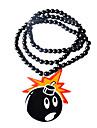 Bomb Pattern Acrylic Necklace