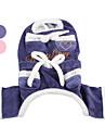Собака Брюки Одежда для собак Сердца Синий Розовый Костюм Для домашних животных