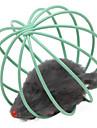 고양이 반려동물 장난감 볼 마우스 레드 / 그린 / 블루 / 옐로우 / 퍼플 / 무지개 금속