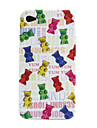 Candies Pattern Soft Case for iPhone 4 and 4S
