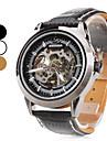 Men's PU Analog Automatic Mechanical Wrist Watch (Assorted Colors)
