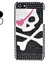 Skeleton Head Pattern Hard Case for iPhone 5/5S (Assorted Colors)
