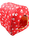 Style de Paw House Pet Bed modèles (rouge, S-L)