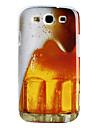 """Жесткий чехол """"Кружка пива"""" для Samsung Galaxy S3 I9300"""