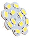 1.5w g4 led 천장 조명 12 smd 5630 150lm 자연 흰색 6000k dc 12v