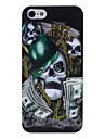 dólar crânio cabeça estojo rígido padrão para o iphone 5/5s