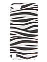 Zebra-rayures Motif Housse TPU pour iPod Touch 5