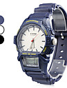 Unisex's Multi-Functional Style Rubber Automatic Analog-Digital Wrist Watch (Assorted Colors)