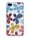 Cas motif papillon rigide pour iPhone 4 et 4S