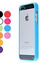 Etui Til iPhone 5 / Apple iPhone 5 etui Transparent Bagcover Ensfarvet Hårdt PC for iPhone 5