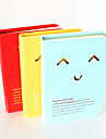 Hollow-Out Expression Hard Cover Notebook(Random Color)