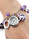 Women's Alloy Plastic Analog Quartz Bracelet Watch (Purple) Cool Watches Unique Watches