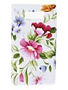 Элегантный цветочный узор Мягкий чехол для LG Optimus P705 L7