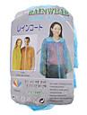 Facile & Light Vêtements de pluie à usage unique (couleur aléatoire)