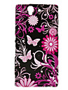 Butterfly Pattern Protective Soft TPU Case Soft Case for Sony Xperia Z L36h