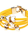 PU Bracelet Multilayer Heart Bracelet