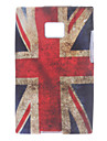 UK Flag Pattern Soft Case for LG Optimus L3 E400