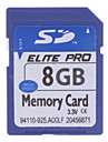 8GB Hi-speed Elite Pro SD Memory Card(Blue)