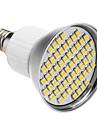 SENCART 240lm E26 / E27 LED-spotlys PAR38 60 LED Perler SMD 3528 Varm hvid 85-265V