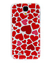 For Samsung Galaxy Case Pattern Case Back Cover Case Heart PC Samsung S4