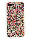 PC Multicolor Geometry Pattern Hard Case for iPhone 4/4S iPhone Cases