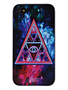 Triangle in Abstract Painting Decaled PC Hard Case for iPhone 4/4S