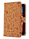 Capa Protetora em Couro PU de 7 Pol. Com Padrão Fofo em Alto Relevo para Asus/Dell/Kindle/Lenovo/Tablets em Geral
