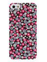 아이폰 5/5S를위한 실내 매트 다채로운 해바라기 패턴 PC 단단한 상자