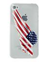 아이폰 5 / 5S에 대한 미국 국기 인쇄 소프트 쉘