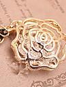 Corée du creux de phrase roses corde noire pendaison de cristal long pull d'hiver (couleur aléatoire)