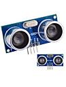 초음파 센서 HC-SR04 거리 측정 모듈 - 블루 + 실버