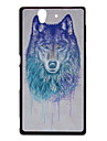 Cool Huskie Pattern Protective Case for Sony Xperia Z/L36h
