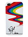 DEVIA Magia Desenho Pen Padrao PC Hard Case para iPhone 4/4S