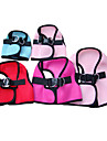 Comfortable Mesh Fabric Vest Harness for Pets Dogs (Assorted Colors, Sizes)