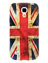Vintage bandeira britânica Padrão TPU Soft Case para Samsung Galaxy S4 Mini I9190