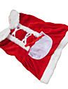 Cachorro Vestidos Roupas para Caes Natal Ano Novo Laco Ocasioes Especiais Para animais de estimacao