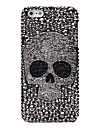 Full Diamond Skull Jewelry Covered Back Case for iPhone 5/5S