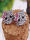 Versão coreana da pequena boutique de jóias de personalidade Hellokitty Gato bonito brincos de diamante brincos E646