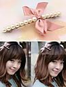 Корейский лук Мода и клипы Pearl волос