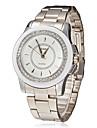 Diamante Dial Alloy banda quartzo relógio de pulso analógico de Mulheres (cores sortidas)