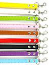 Красочные цвета кожи PU поводок для собак домашних животных (разные цвета, размеры)