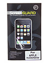Three Pieces Packed Professional Anti-glare LCD Screen Guard with Cleaning Cloth for iPhone 5/5S/5C