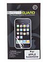Три пьесы Упакованные Профессиональные антибликовым покрытием ЖК экрана гвардии с Ткань для очистки для iPhone 5/5S/5C
